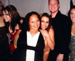 O femeie dezbracata