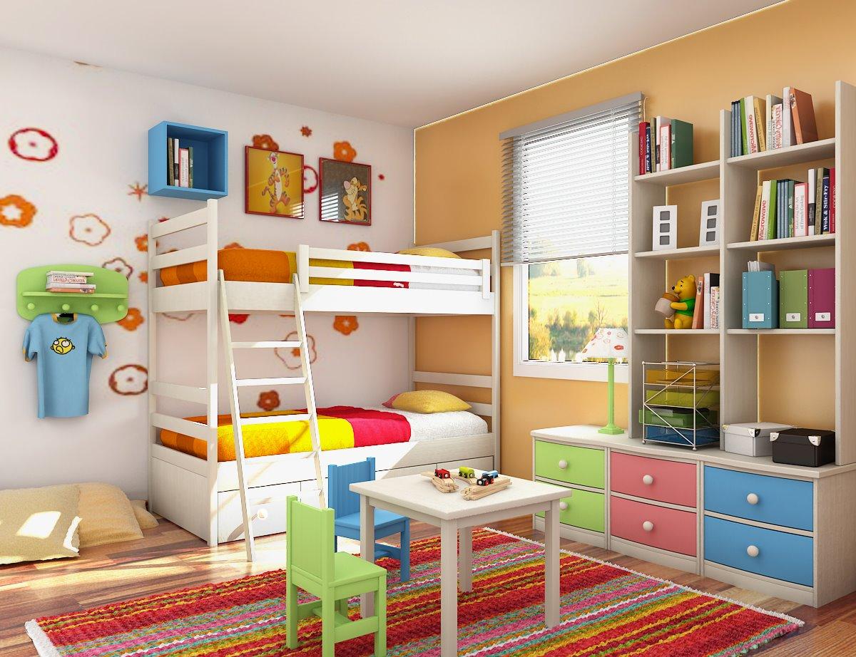 decoratiuni camera copilului