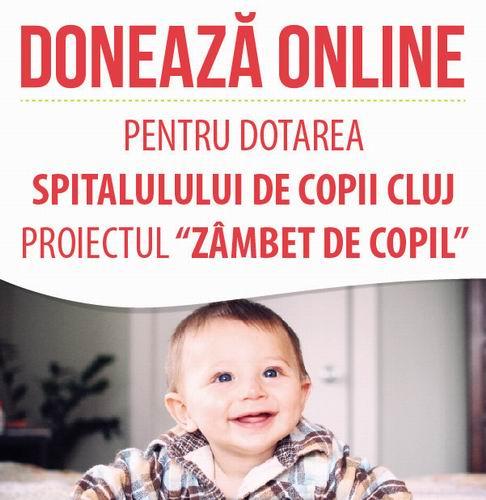 doneaza pentru spitalul de copii
