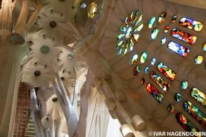 Vitralii din Sagrada Familia