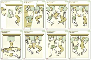 cum dorm parintii in pat cu bebelusul