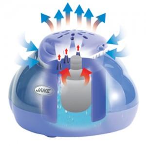 umidificator pentru camera copilului
