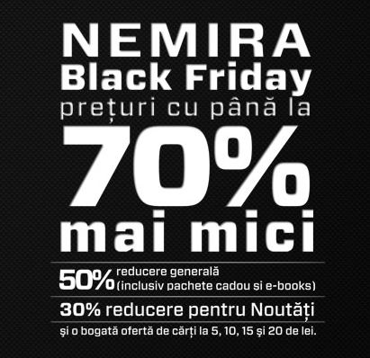 black friday librarie nemira