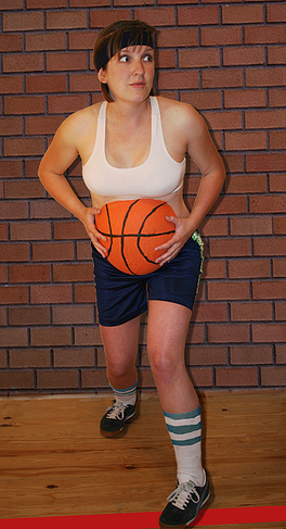 burtica cu minge  de baschet