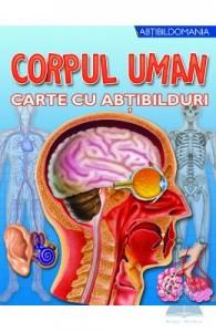 carte cu abtibilduri despre corpul uman