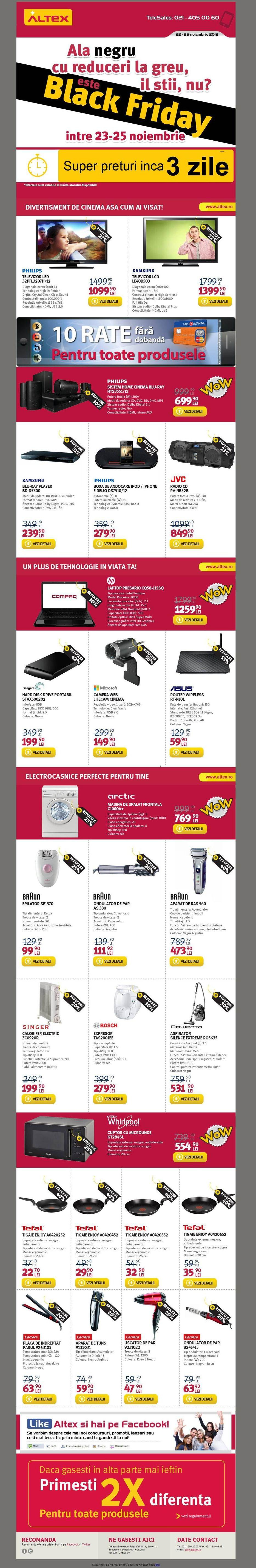 oferta altex black friday