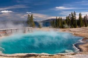 Parcul Yellowstone - Fantana Paint Pot