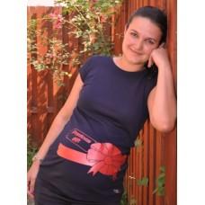 tricou gravida cu fundita cadou