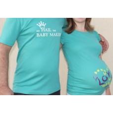 tricouri pentru gravide si tatici
