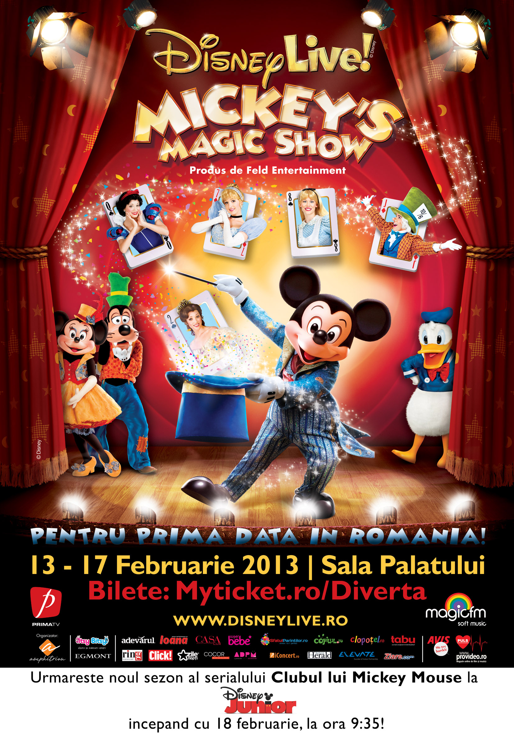 Disney Mickey,s Magic Show