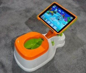 iPotty - olita cu tableta ipad