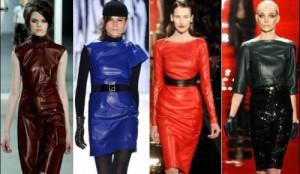 rochii din piele naturala