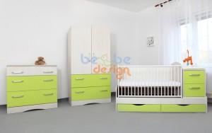 camera copii pe verde