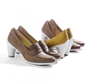 pantofi dama din piele