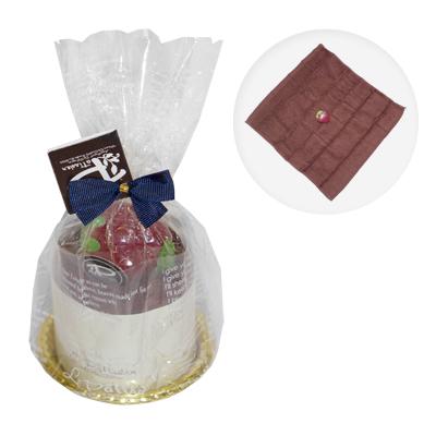 Cadou cu ciocolata pentru paste