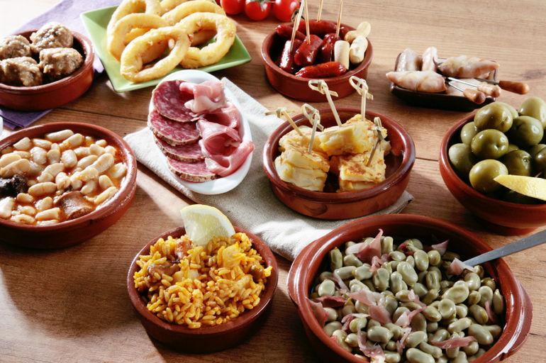 bucataria spaniola tapas
