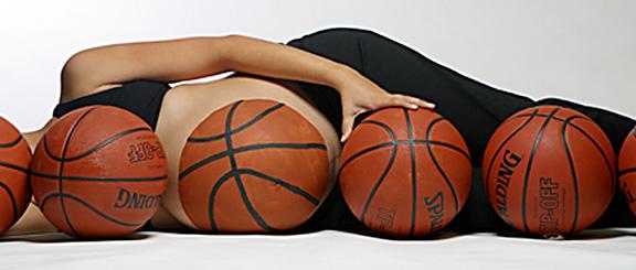 burtica cu mingi de baschet