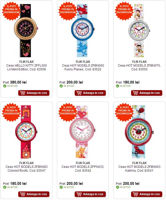 ceasuri copii de firma