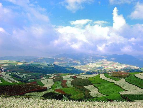 imagini cu dealuri din china