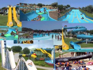 Parcul acvatic Diverland din Sardinia