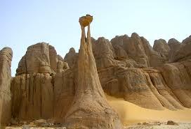 Tassili N'Ajjer din Sahara Algeria