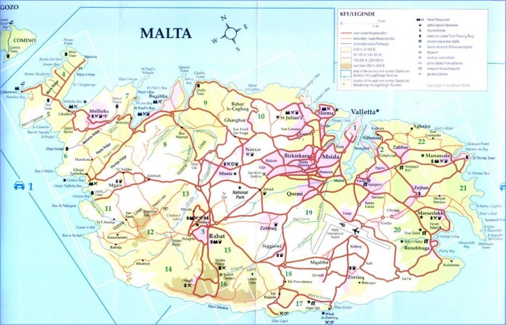 harta Malta