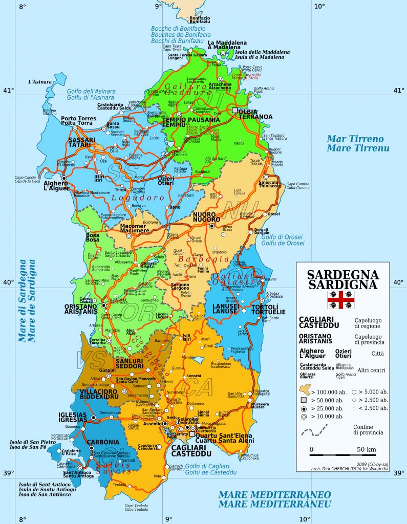 harta Sardinia