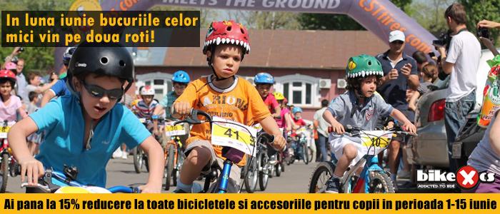 Reduceri biciclete copii