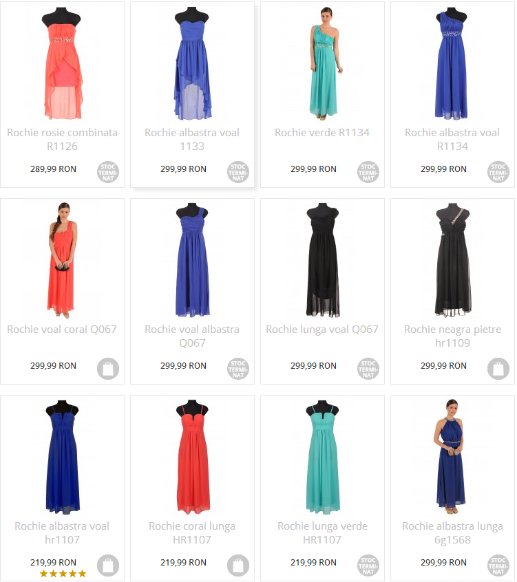 rochii pentru banchet lungi