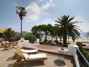 terasa cu priveliste in Mallorca