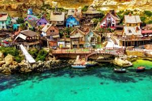vacanta in Malta - satul lui Popeye