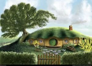 Casa hobiti de Eric Faure – Brac