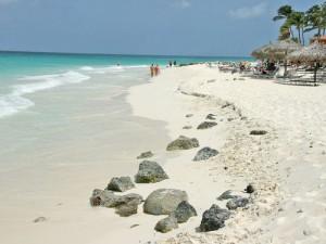 plaja Eagle Beach Aruba