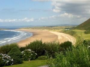 plaja rhossili bay Marea Britanie