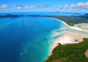 plaja whitehaven beach