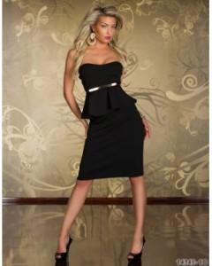 rochie spectacular black