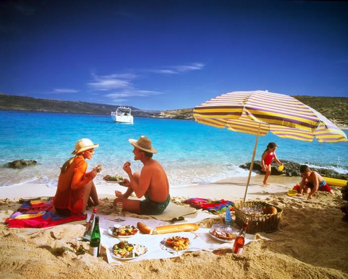 La plaja in Lefkada