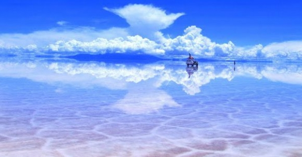 Cel mai mare desert de sare din lume