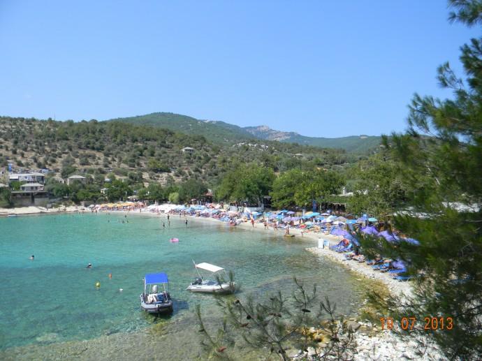 Aliki Beach Thassos
