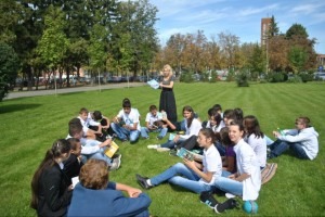 lectura in parc