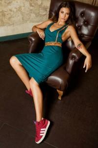 rochie verde moja by Antonia