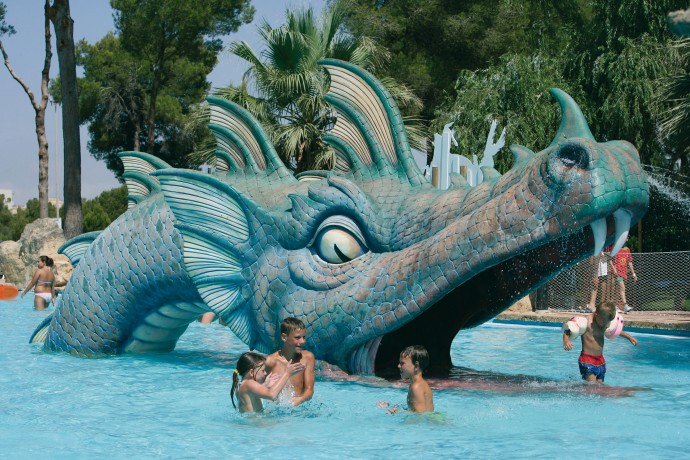 Parcul acvatic din Mallorca