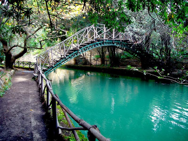 Rodini Park din Rhodos