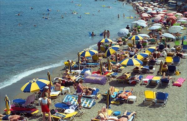 hersonissos-beach