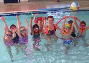 Lectii de inot la piscina