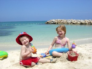 Plaja in Cipru pentru copii