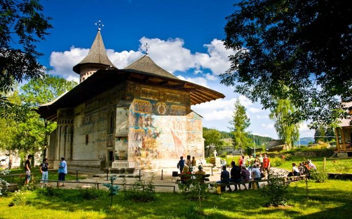 Manastirea Voronet  din Bucovina