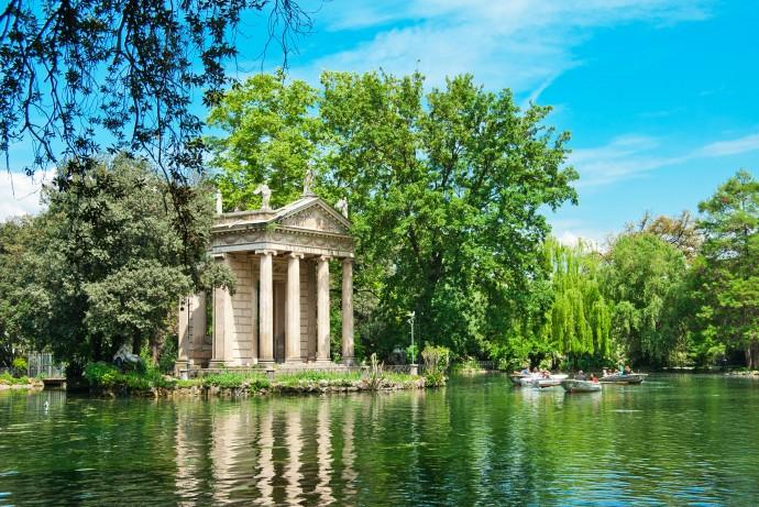 Villa-Borghese-Gardens-Rome