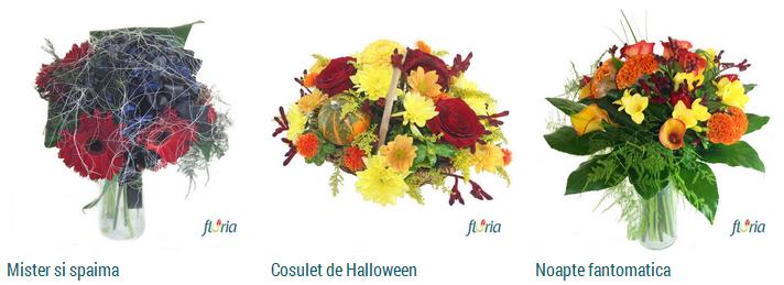 buchete flori halloween