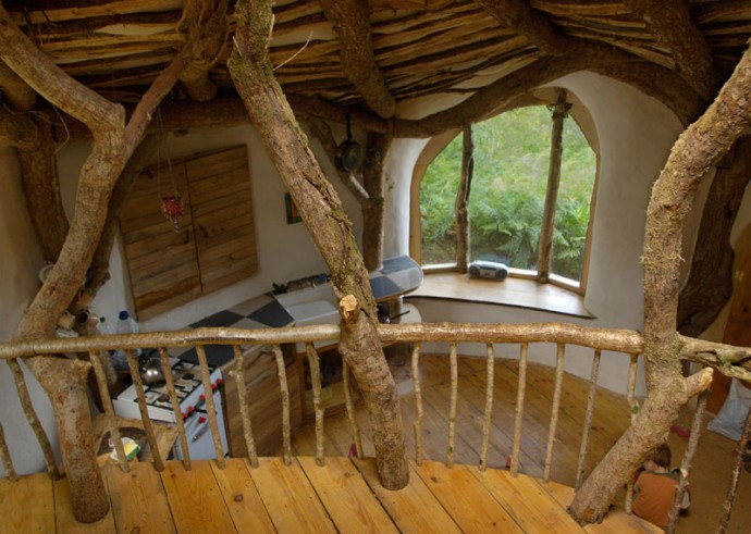 casa din lemn de stejar